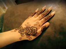 Simple mehendi designs 07