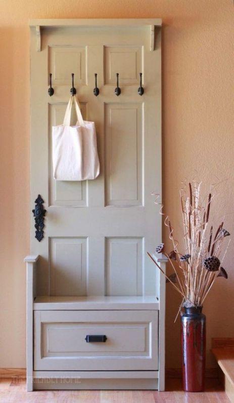 jak wykorzystać stare drzwi