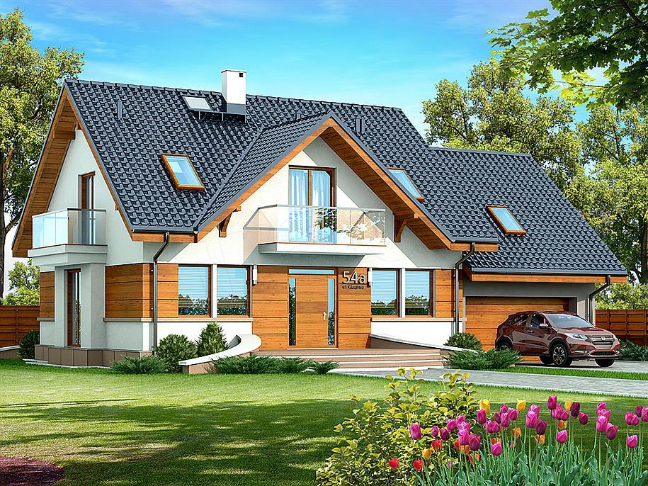 najczęsciej budowane domy