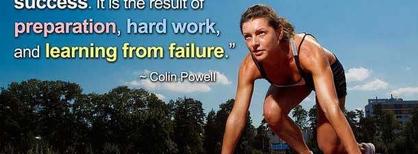 Les succès exige des efforts