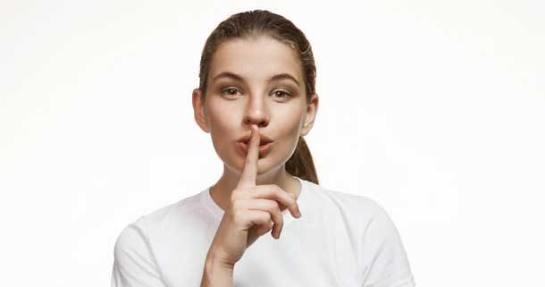 secret silence fraude
