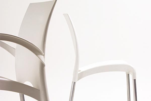 Стул Vital-K ivory ᐈ Купить стул пластиковый c ...