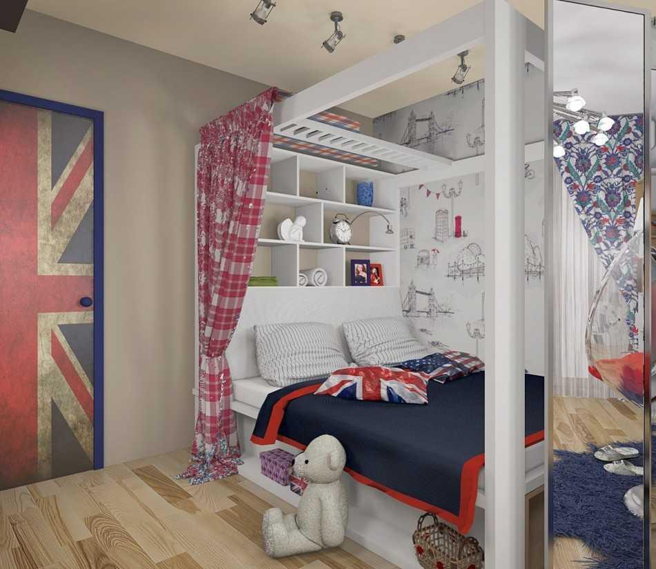 дизайн подростковой комнаты для мальчика в современном стиле 6