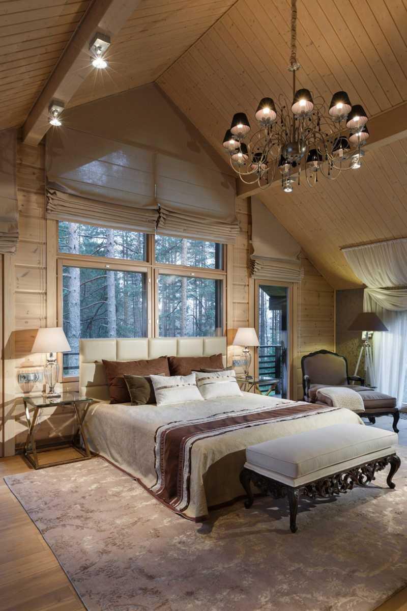 мансарда спальня дизайн фото 3