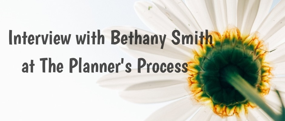 Interview with Bethany Smith at The Planner's Process