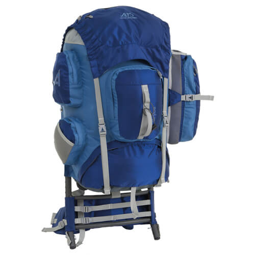 Alps Mountaineering Blue Bryce Backpack