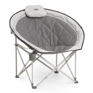 CORE Folding Oversized Padded Moon Chair