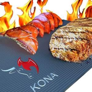 KONA Best Heavy Duty 600 Degree Non-Stick BBQ Grill Mat