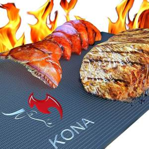 KONA Best Heavy Duty 600 Degree Non-Stick BBQ Grill Mat