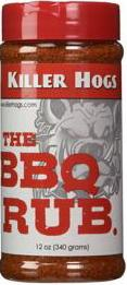 Killer Hogs The BBQ Rub 12 Ounce Seasoning