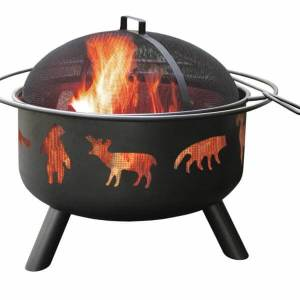 Landmann USA Big Sky Wildlife Fire Pit