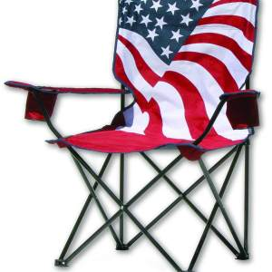 Quik Chair United States Flag Folding Chair