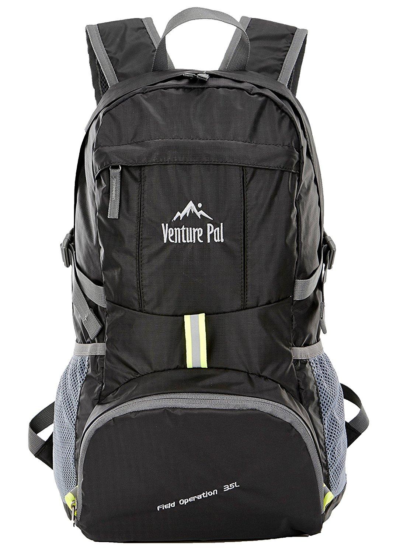 Venture Pal Lightweight Packable Travel Hiking Backpack Daypack