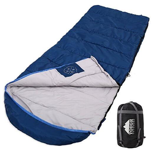 XL Hooded All Season Sleeping Bag