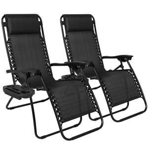 Zero Gravity Outdoor Chair Set