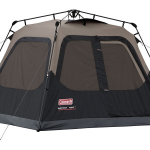 Coleman Black 4 Person Instant Cabin Tent