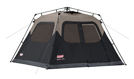 Coleman Black 6 Person Instant Cabin Tent