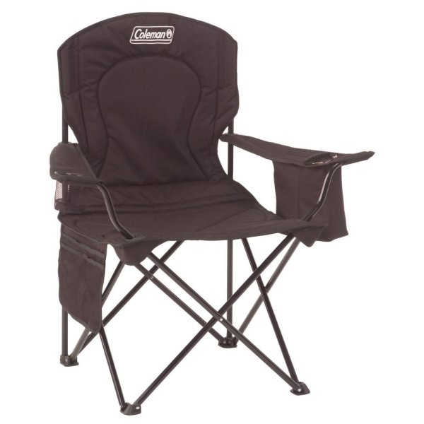Coleman Oversized Camp Quad Chair with Cooler