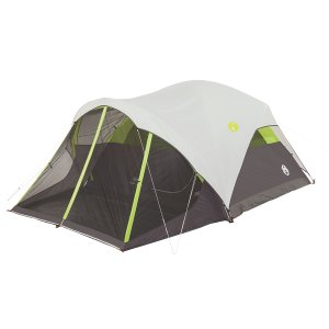 Coleman Steel Creek 6 Person Fast Pitch Screen Room Dome Tent
