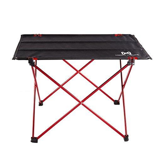 Moon Lence Ultralight Folding Roll Up Camping Picnic Table