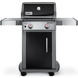Weber 46110001 Black Spirit E210 Liquid Propane Gas Grill