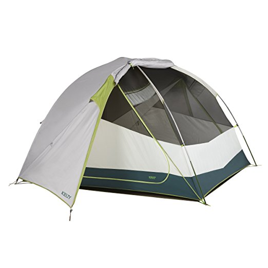 Kelty Trail Ridge 4 Person Camping Tent and Footprint
