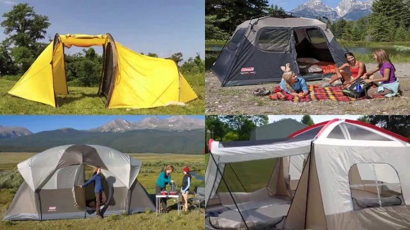 Family Outdoor Camping Tents