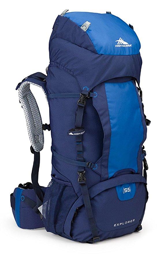 High Sierra Explorer 55 Liter Frame Backpack