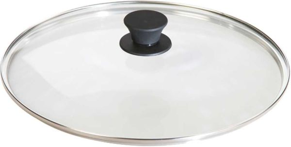 Lodge 12 Inch Tempered Glass Camp Cookware Lid