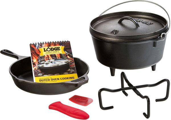 Lodge 7-Piece Cast Iron Camp Cookware Set
