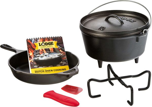 Lodge 7-Piece Cast Iron Camp Cookware Set