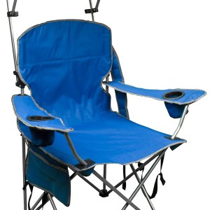 Quik Shade Adjustable Canopy Camp Chair