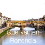 Lo mejor de Florencia