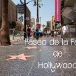 Paseo de la Fama Hollywood