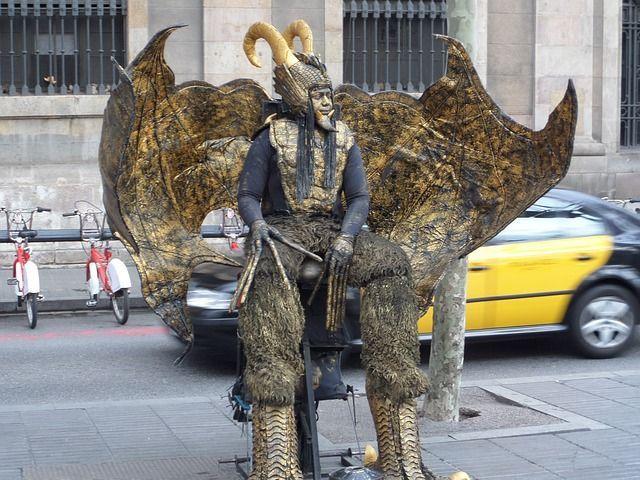 Estatuas humanas Barcelona