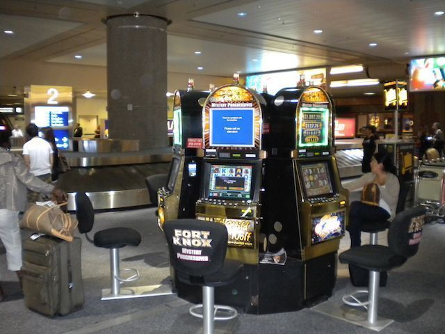Tragaperras en Las Vegas