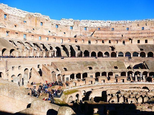 Interior Coliseo de roma