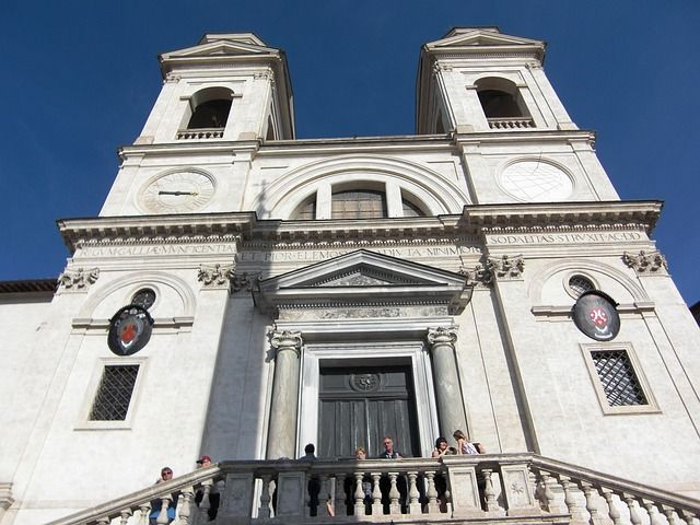 Iglesia Trinidad del Monte Roma