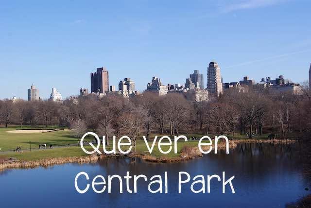 Que ver en Central Park