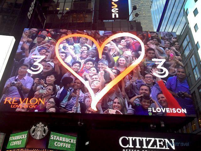 Pantallas en Times Square