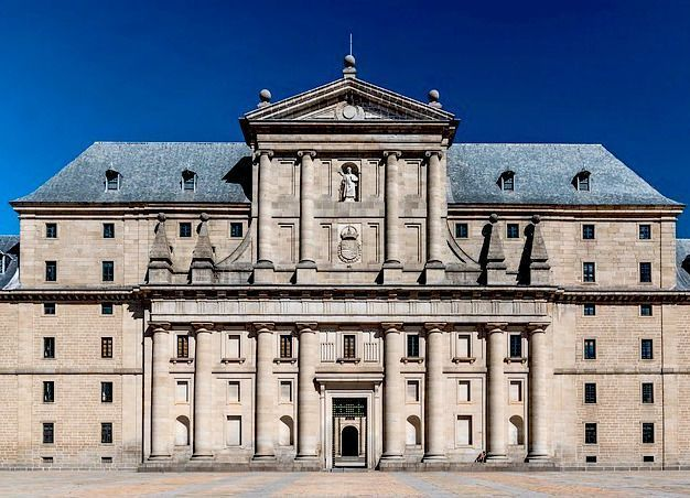 Visita Monasterio del Escorial exterior