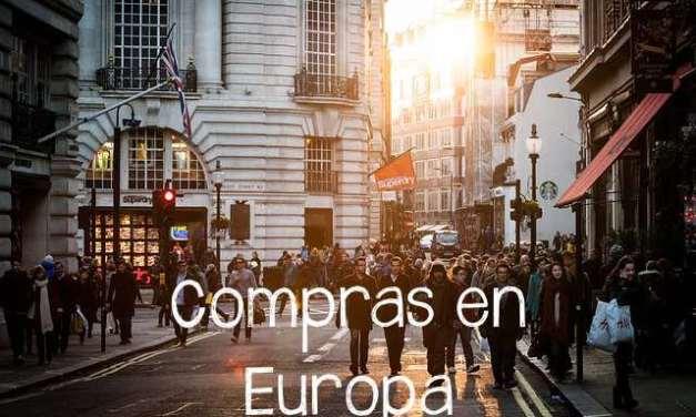 Compras en Europa