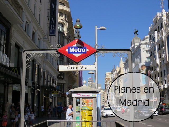 Cinco planes en Madrid para estos días