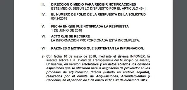 Ordena Ichitaip al Municipio transparentar información a partir de recurso de PEJ