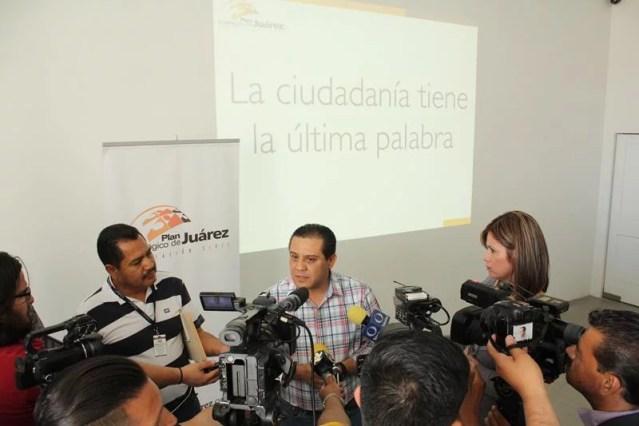 Rueda de Prensa: Posicionamiento y acciones ciudadanas seguidas de la aprobación de Juárez Iluminado