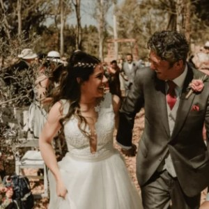 Charlotte & Nigel Wedding Aisle Pictures | Plan My Weddin SA