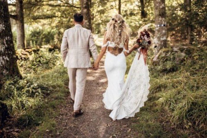 A bohemian Wedding