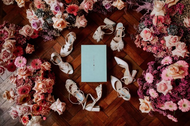 Win a £280 Pair of Charlotte Mills Bridal Shoes Of Your Choice