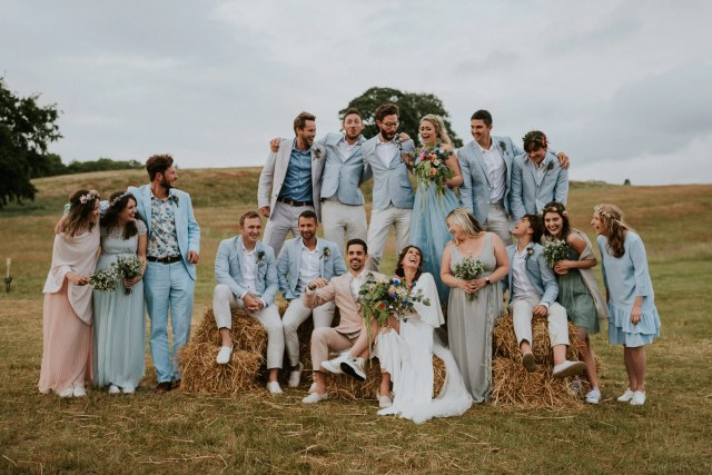 A Festival Wedding at Hidden Valley for a Boho Bride and her ASOS Dress