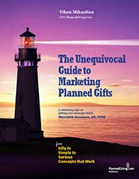 unequivocal guide to marketing planned gifts book